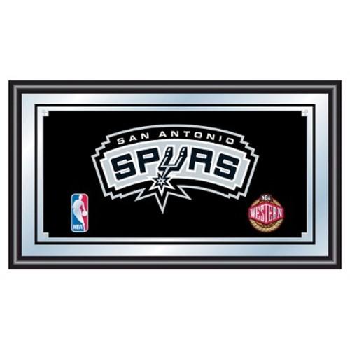 San Antonio Spurs Team Logo Wall Mirror
