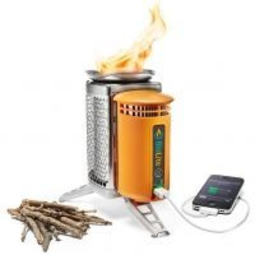 Biolite CampStove w/Heat Powered Charging Station CSA-Retail, Packed Size: 8.25 x 5 inches / 209.6 x 127 mm, Product Weight: 2 lb, 935 g,  Free Two Day Shipping