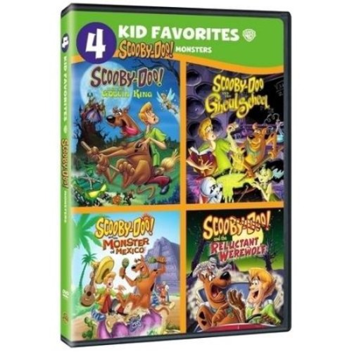 4 Kid Favorites: Scooby-Doo Monsters
