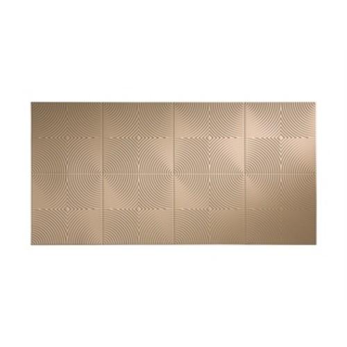 Fasade Current Horizontal Almond 4-foot x 8-foot Wall Panel [option : 4' x 8']