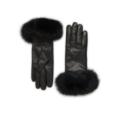 Surell - Leather & Rabbit Fur Gloves