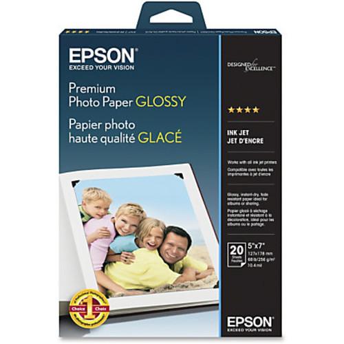 Epson Premium Photo Paper Glossy, 5