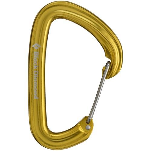 Black Diamond Hotwire Carabiner - Yellow