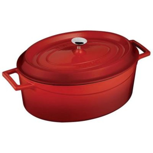 Lava Signature 5 Qt. Cast Iron Oval Dutch Oven