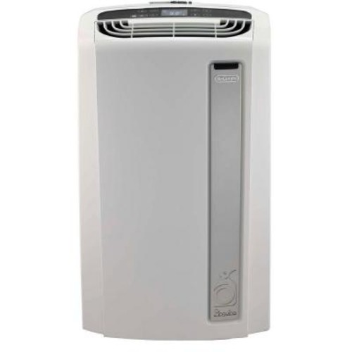 DeLonghi Pinguino 12,000 BTU Whisper Quiet Portable Air Conditioner with Dehumidifier and BioSilver Air Filter