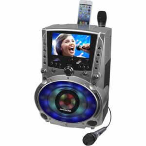Karaoke USA DVD/CDG/MP3G System with 7 TFT Color Screen