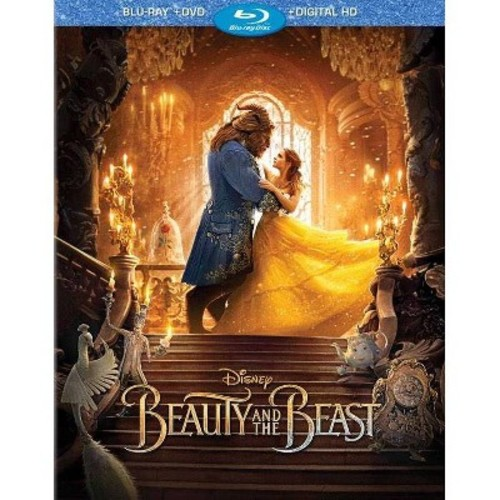 Beauty and the Beast (Blu-ray + DVD + Digital)