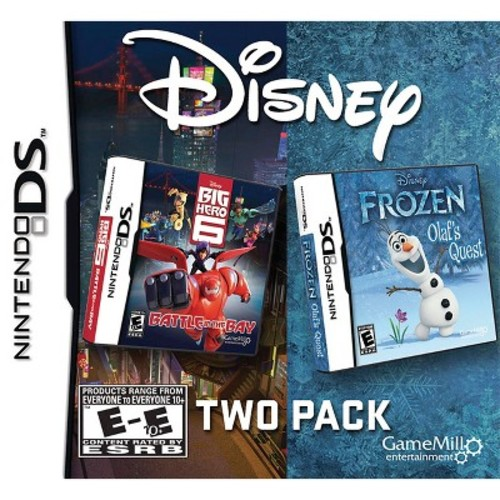 Disney Two Pack - Frozen: Olaf's Quest and Big Hero 6: Battle in the Bay for Nintendo DS