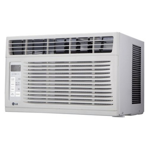 LG - 6,000 BTU Window Air Conditioner - White