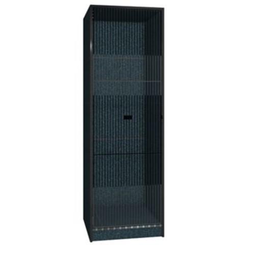 Ironwood Teton 1 Tier 1 Wide Storage Locker; Black Granite