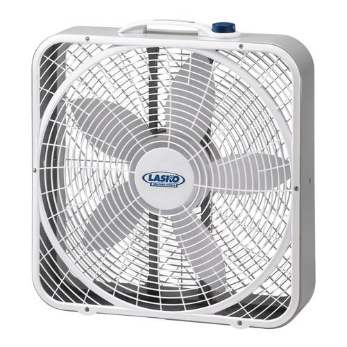 Lasko 3720 20 In. Weather-Shield Performance Box Fan