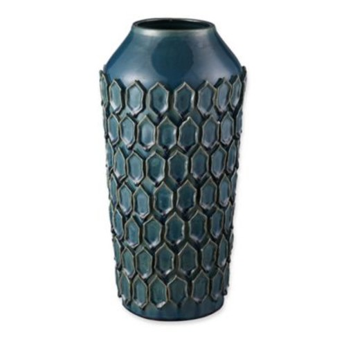 Moe's Home Collection Aegean Vase in Teal