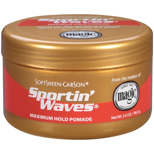 SoftSheen-Carson Sportin' Waves Maximum Hold Pomade, 3.5 oz [3.5 Ounce]