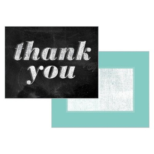 Chalkboard Thank You Cards with Envelopes (10 count)