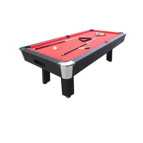 Sportcraft 8FT Red Billiard Table