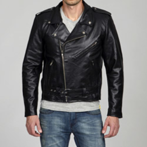 Mason & Cooper Bane Leather Jacket [option : Black, Small]