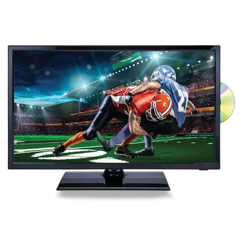 22-inch 12 Volt AC/DC Widescreen LED 1080p HDTV ATSC Digital Tuner with DVD Player