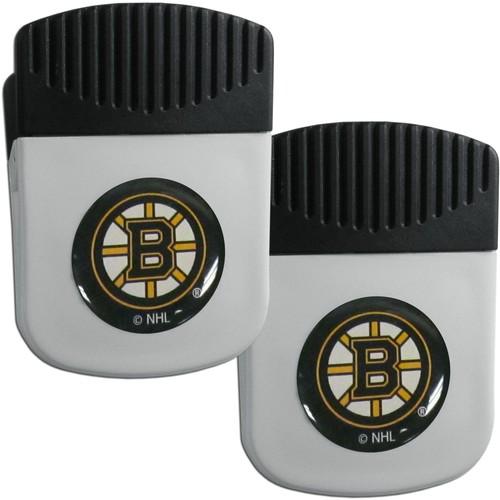 Boston Bruins Chip Clip Magnet and Bottle Opener 2 Pack