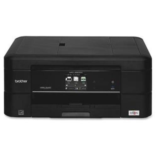 Brother MFC-J680DW Inkjet Multifunction Printer - Color - Photo Print - Desktop - Copier/Fax/Printer/Scanner - 15 Second Ph...