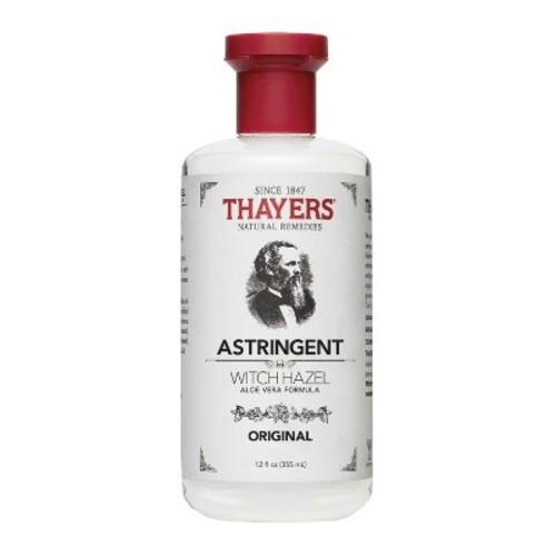 Thayers Witch Hazel with Aloe Vera, Original Astringent, 12 OZ [Original, 12]