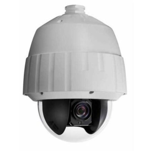 Securitytronix IP-NP312 Outdoor 2MP PTZ Dome Camera, 20x Optical Zoom, White