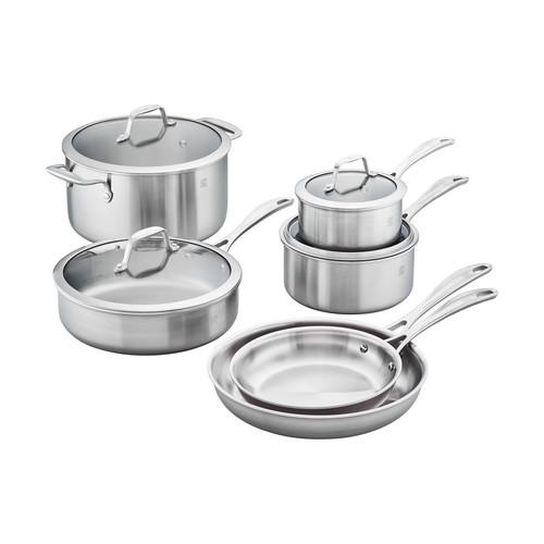 Henckels Spirit 10-Piece Stainless Steel Cookware Set