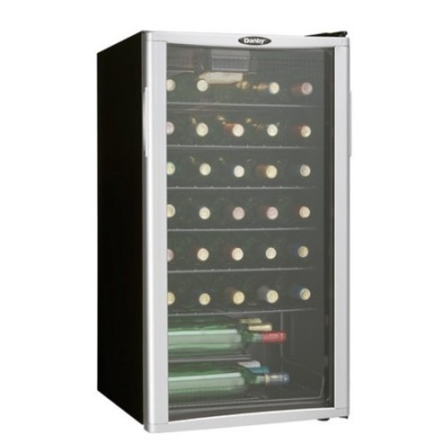 Danby DWC350BLPA 35 Bottle Wine Cooler - Platinum [Pack of 1]