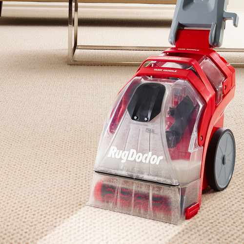 Rug Doctor Deep Carpet Cleaner, Upright Portable Deep Cleaning Machine for Home and Office; Extracts Dirt and Removes Stubborn Stains on Carpet and Upholstery; Includes 7.7 ft Upholstery Tool