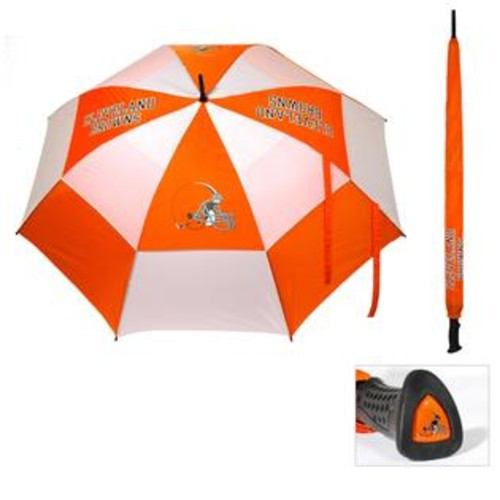 Team Golf Cleveland Browns 62-inch Double Canopy Golf Umbrella