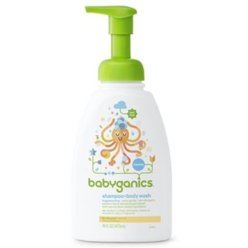 Babyganics 16 oz. Foaming Shampoo + Body Wash in Fragrance-Free