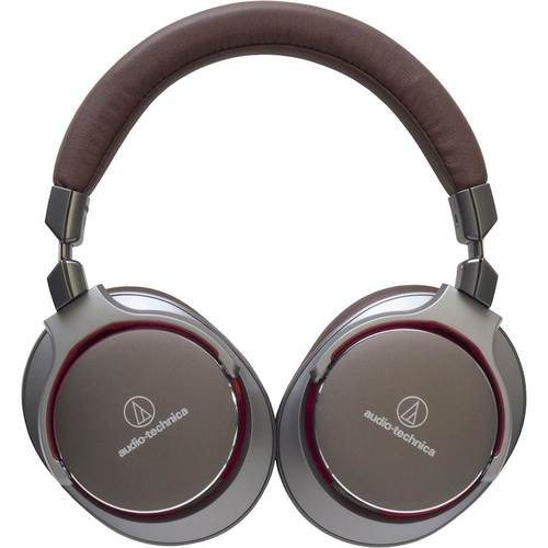 Audio-Technica - ATH Over-the-Ear Headphones - Gunmetal