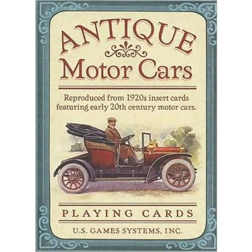 Antique Motor Cars Card Game