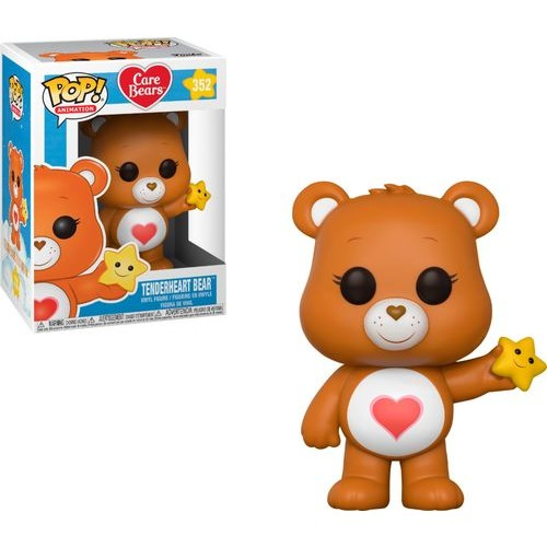 Funko - Pop! Animation Care Bears Tenderheart Bear