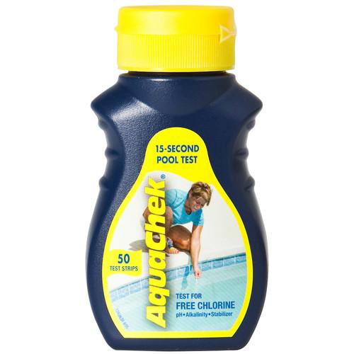 Doheny Water Testing Strips (AquaChek Yellow/Chlorine)