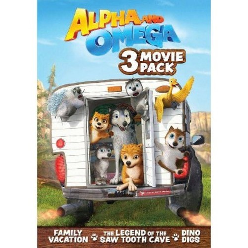Alpha And Omega Movie 3 Pack (DVD)
