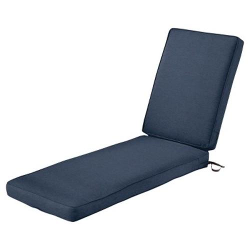 Montlake 2pc Patio Chaise Lounge Cushion Set - Classic Accessories