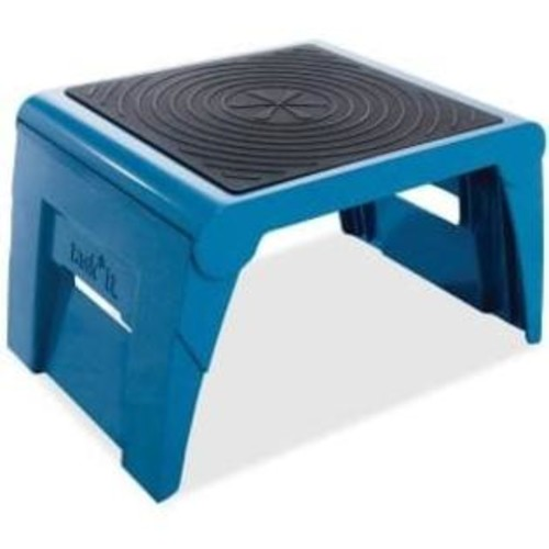 Task It Cramer Folding Blue Step Stool