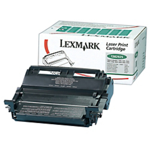 Lexmark 1382925 High-Yield Return Program Black Toner Cartridge