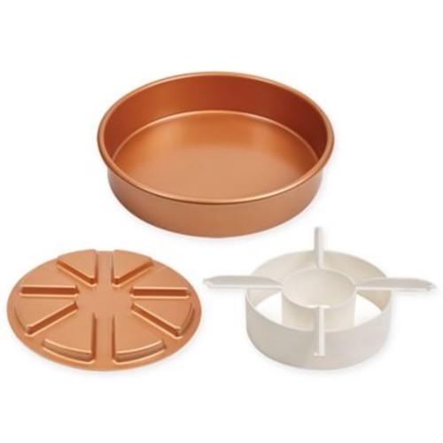 Copper Chef 3-Piece Perfect Cake Pan Set