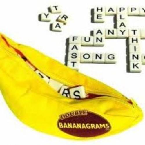 Everest Toys Double Bananagrams Game Set - 288 tiles