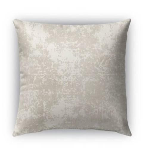 Kavka Ravenna Burlap Indoor/Outdoor Throw Pillow; 20'' H x 20'' W x 5'' D