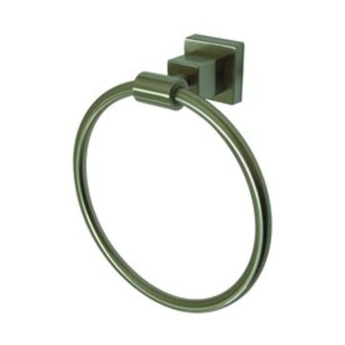 Elements of Design Claremont Satin Nickel Wall-Mount Towel Ring