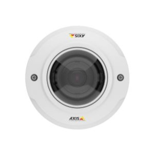 AXIS M3044-WV - Network surveillance camera - dome - dustproof / vandal-proof - color (Day&Night) - 1 MP - 1280 x 720 - 720p - M12 mount - fixed iris - fixed focal - wireless - Wi-Fi - LAN 10/100 - MP