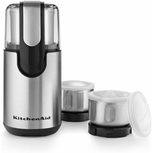 KitchenAid BCG211OB Onyx Black Blade Coffee and Spice Grinder