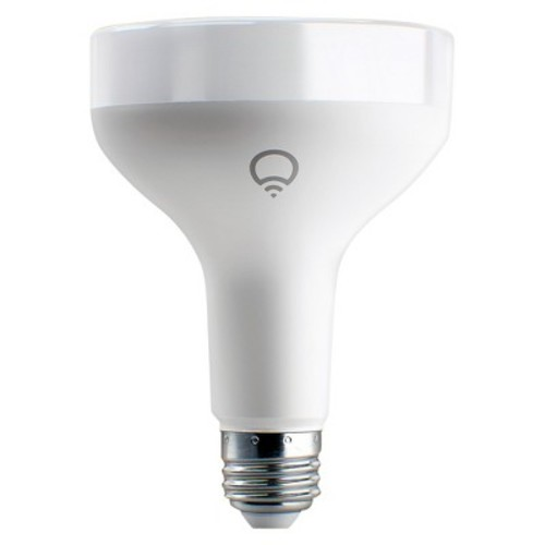 LIFX E26 BR30 Wi-Fi Smart Color LED Light Bulb, 1100 Lumens, 16 Million Colors