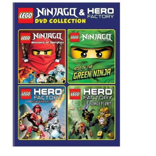 LEGO Ninjago: and Hero Factory Collection [4 Discs] [DVD]