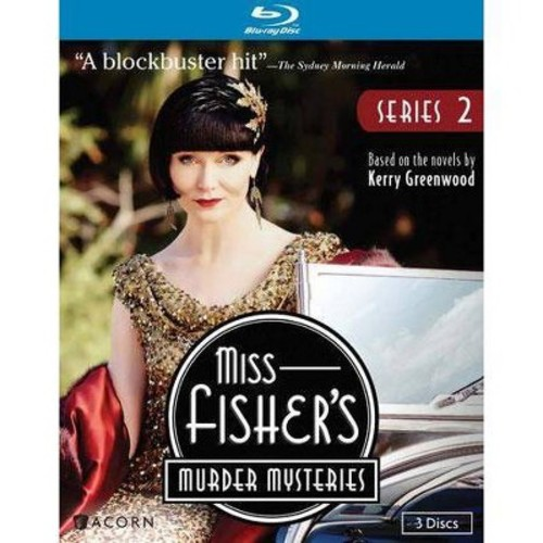 Miss Fisher's Murder Mysteries: Series 2 [3 Discs] [Blu-ray]