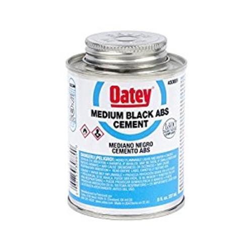 Oatey 30889 ABS Medium Cement, Black, 8-Ounce: Home Improvement [Black, 8-Ounce]