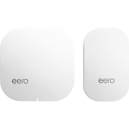 eero - Home WiFi System (1 eero + 1 eero Beacon), 2nd Generation - White