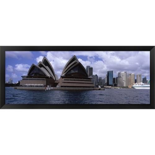 ' Sydney Opera House, Sydney, Australia' Framed Panoramic Photo